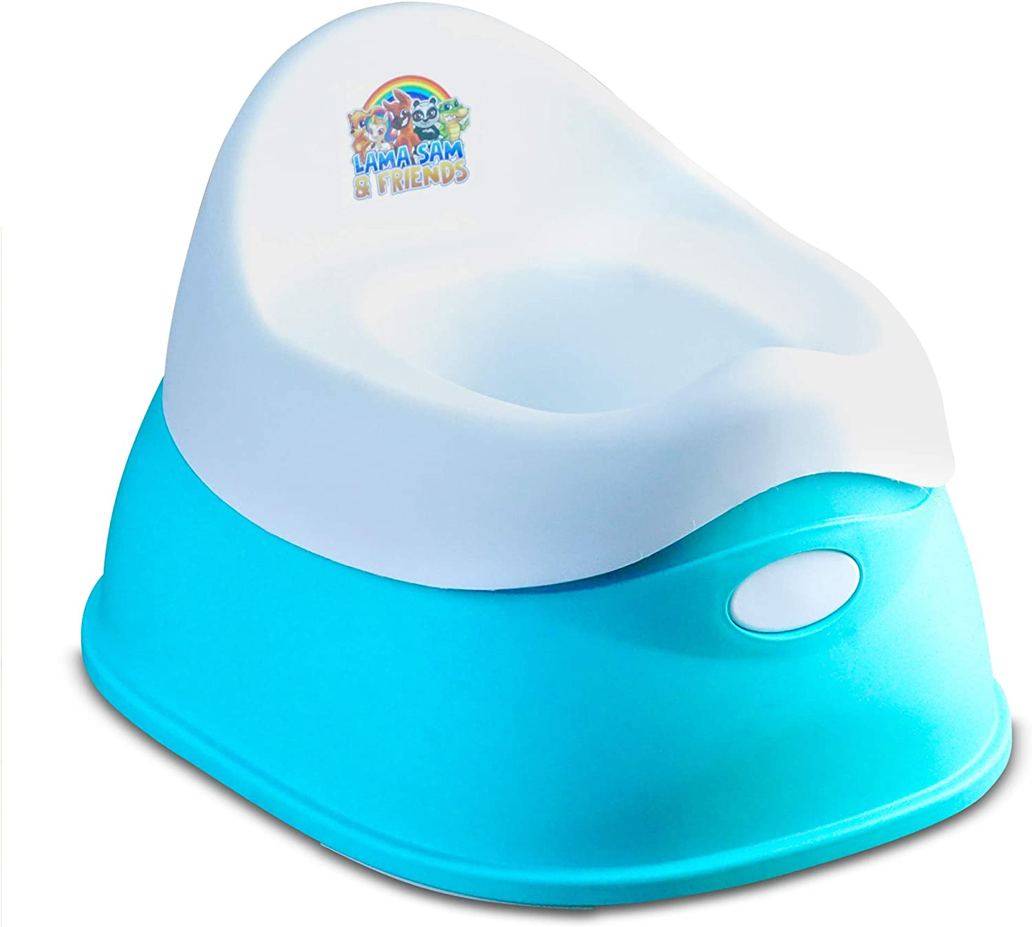 Smart Plastic Potty for Baby and /& Toddler Lama Sam /& Friends Grey - Model 2019 Model 2019