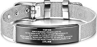 Best boy bracelets engraved Reviews