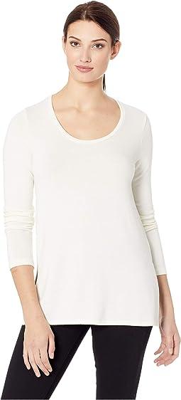Side-Slit Sweater