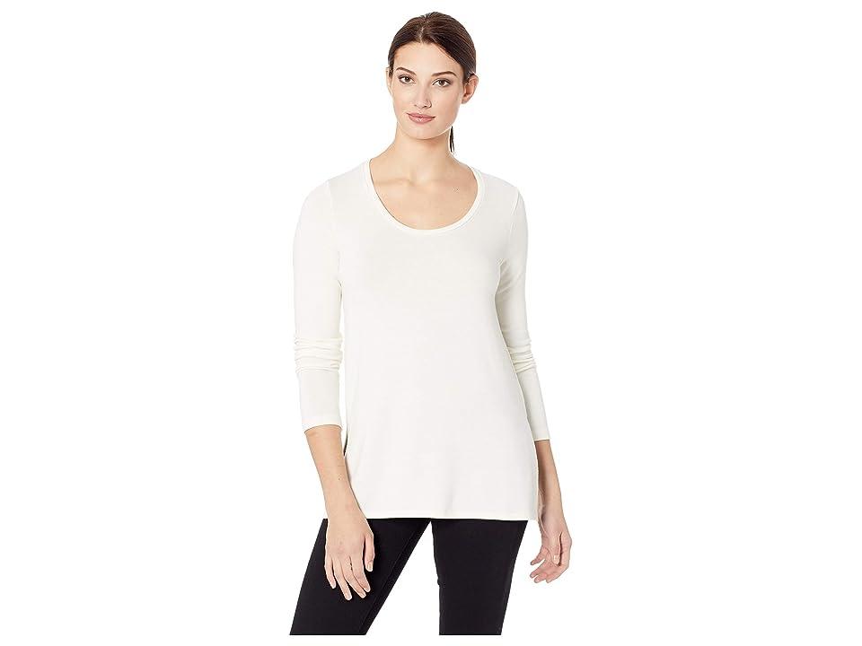 Karen Kane Side-Slit Sweater (Cream) Women