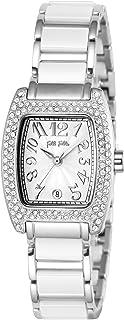 [フォリフォリ] 腕時計 S922セラミック シルバー文字盤 WF5T135BDW 並行輸入品