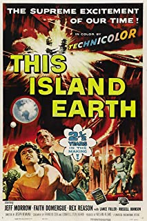 American Gift Services - Vintage Movie Poster This Island Earth - 11x17
