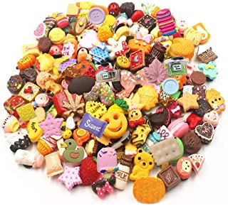 50 Pcs 3D Random Resin Cute Shoe Charms For Croc Shoes & Bracelet Wristband Kids Gifts Party Birthday