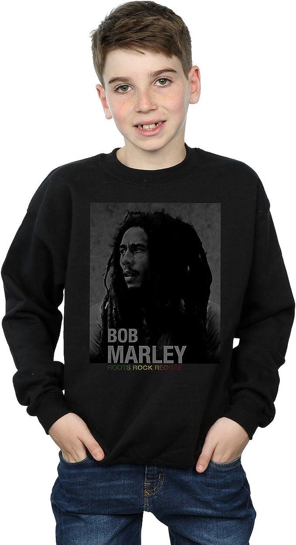 Bob Marley niños Roots Rock Reggae Camisa De Entrenamiento ...