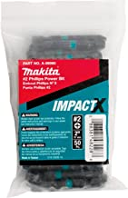 Makita A-98980 Impactx #2 Phillips 2″ Power Bit, 50 Pack, Bulk