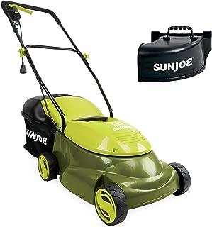 Sun Joe MJ401E-PRO 14 inch 13 Amp Electric Lawn Mower w/Side Discharge Chute, 14