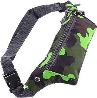 kesoto Waterproof Running Belt Gym Fitness Travel Waist Pouch Bum Bag Men/Women - Green