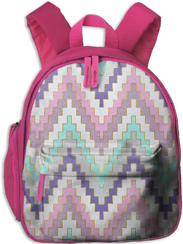 Lightweight Travel School Backpack Tribal Geometric(10368) For Girls Teens Kids