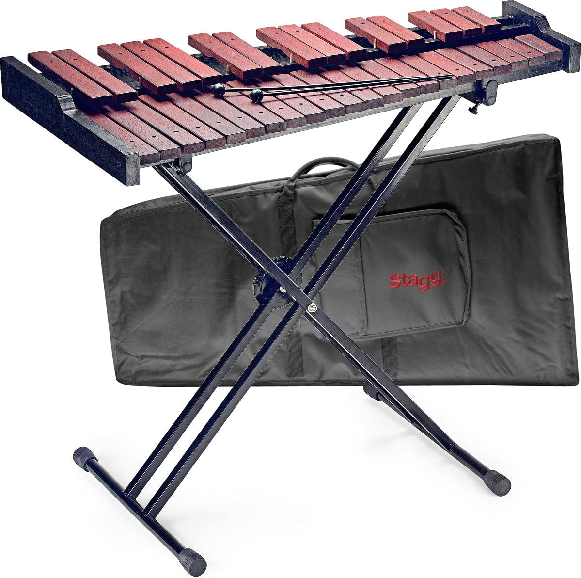 Stagg Xylophone Max 88% Limited time cheap sale OFF Padouk Wood 37 P21 Xylo-Set