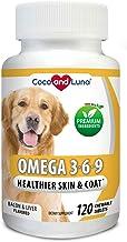Vita Pet Life Omega 3 for Dogs, Fish Oil, Flaxseed Oil, Antioxidant, DHA EPA Fatty Acids, Brain Health, Shiny Coat, Itchy ...