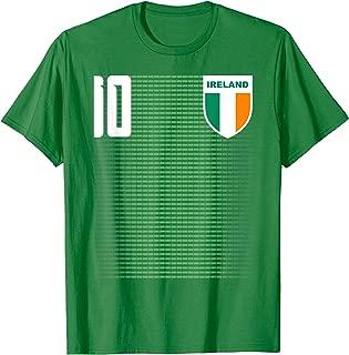 Ireland Irish Futboll Soccer Jersey Shirt Tee