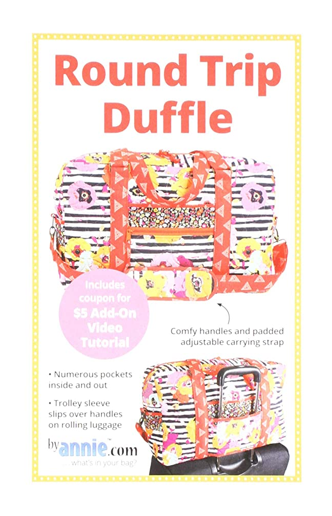 by Annie PBA267 Round Trip Duffle Pattern kay537686