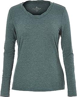 ROYAL ROBBINS Women's Essential Tencel Twist Neck Crew Long Sleeve T-Shirt