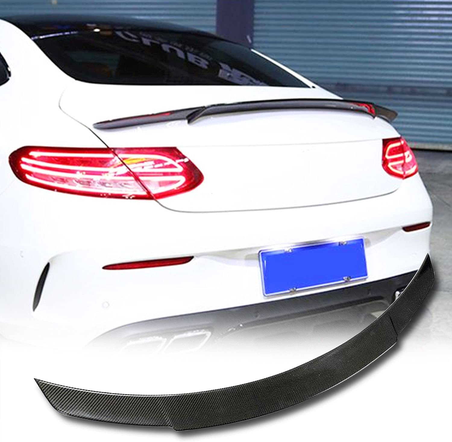 MCARCAR KIT Real Carbon Fiber Trunk for New Free Shipping Be Fits Mercedes Spoiler Max 42% OFF