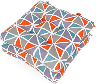 Shinnwa Kitchen Dining Room Chair Pads Cushions with Ties [16