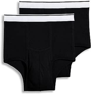 Jockey Men's Underwear Big Man Pouch Brief - 2 Pack