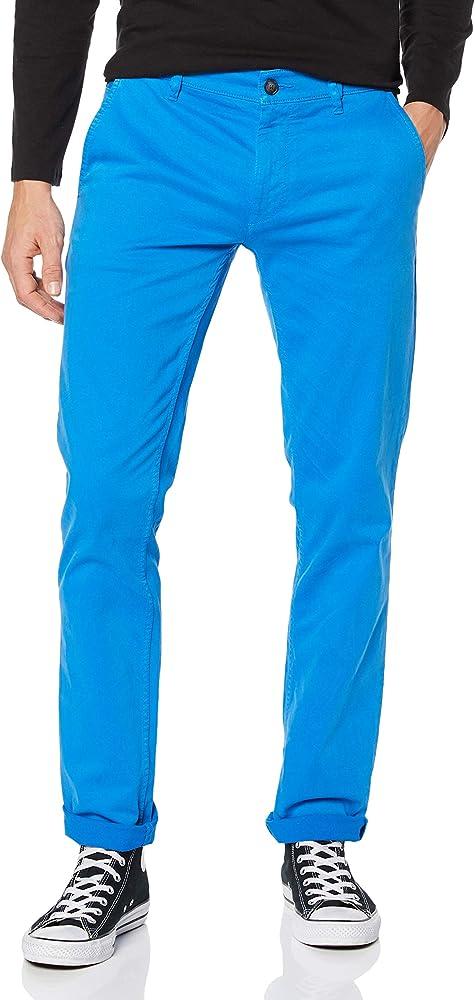 Hugo boss schino/slim d, pantaloni per uomo,97% cotone, 3% elastan,cotone elasticizzato 50379152BL