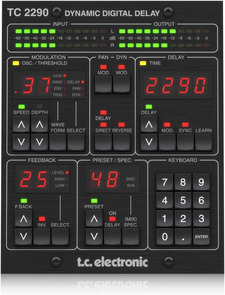 TC Electronic DAW Product Translated TC2290-DT Controller