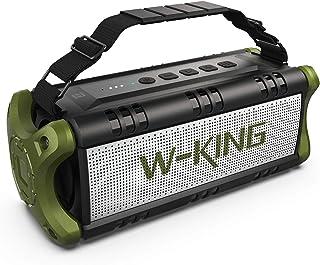 50W(70W Peak) Wireless Bluetooth Speakers Built-in 8000mAh Battery Power Bank, W-KING..