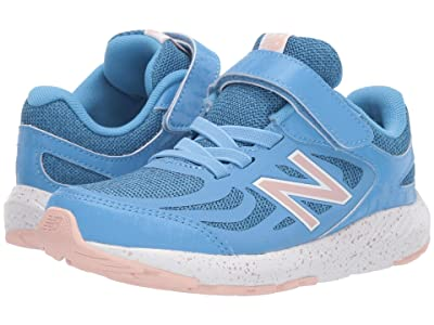 New Balance Kids 519v1 (Little Kid/Big Kid) (Light Lapis Blue/White Oak) Girls Shoes