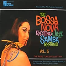 bossa nova exciting jazz samba rhythms