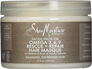 Shea Moisture Sacha Inchi Oil Omega-3-6-9 Rescue and Repair Hair Masque by Shea Moisture for Unisex - 12 oz Masque, 354 ml