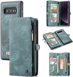 ToneSun Hoes Case voor Samsung Galaxy S10e, Leather Filp Wallet Phone Case Flipcase: Zakelijk Multifunctionele Tas Cover P...