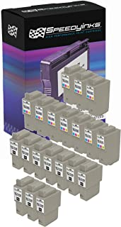 Speedy Inks Compatible Ink Cartridge Replacement for Canon BCI-24 and BCI-21 (10 Black, 10 Color, 20-Pack)