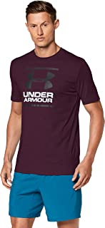 Under Armour Men's UA Gl Foundation Ss T T-Shirt, Purple (Kinetic Purple), Small