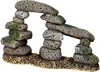 Blue Ribbon PET Products EE-5650 Exotic Environments Twin Pebble Archway