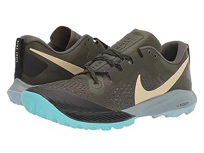 Nike Air Zoom Terra Kiger 5 (Cargo Khaki/Team Gold/Black/Jade Stone) Men