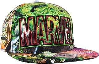 Incredible Hulk Snapback Hat Sublimated Green