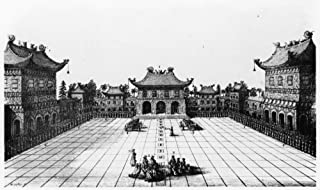 Peking Imperial Palace Nthe Inner Court Of The Imperial Palace In Peking China Engraving Published In An Embassy From The ...