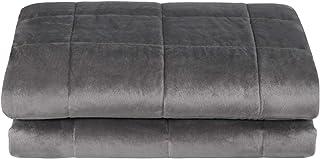 Laneetal Gewichtsdecke Therapiedecke aus 100% Mikrofaser mit Glasperlen für beruhigenden Komfort, Schwerkraftdecke Weighted Blanket Schwere Therapiedecke 150x200cm 9kg, Schwere Decke für Erwachsene