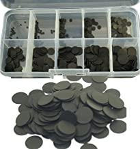 ( Pack of 100 ) 1.5~10mm,Replacement Rubber Conductive Button Pad Kit,Keypad Repair,Remote Control Conductive Rubber Butto...