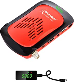 StarSat SR-250HD Lambo Full HD, 2xUSB, HDMI, 5000 Channels, EPG, MPEG4, Blind Scan, YouTube, PVR, DVBS2, 4G & WiFi Support...