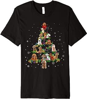 Poodle Christmas Tree X-Mas Gift Premium T-Shirt