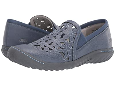 JBU Wildflower Moc (Blue) Women