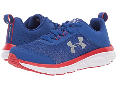 Under Armour Kids UA Assert 8 (Big Kid) (Royal/Red/White) Boys Shoes