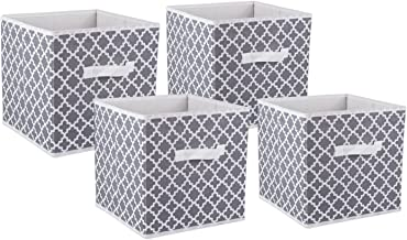 DII Foldable Fabric Storage Containers for Nurseries, Offices, Closets, Home Décor, Cube Organizers & Everyday Use, 11 x 1...