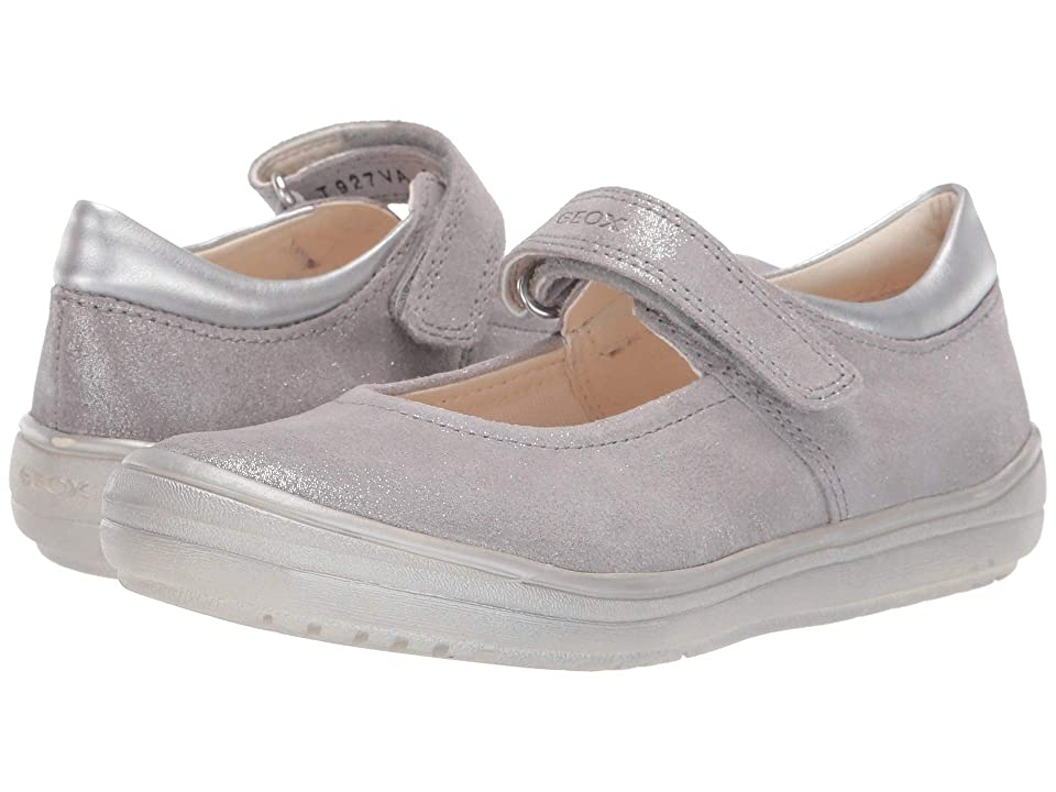 Geox Kids Hadriel Girl 11 (Little Kid) (Grey) Girl