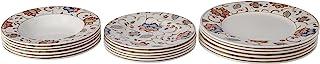 Churchill Vaisselle en Service de Table 18pièces, Grès, aléatoire, 27x 20x 27cm