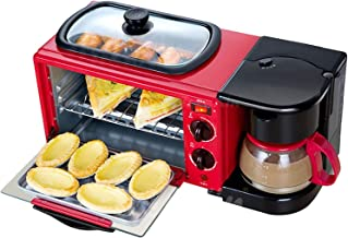 Machine À Petit-Déjeuner Multifonctionnelle Mini Four Multifonctions Machine À Petit-Déjeuner Trois-En-Un - Petit Gril Éle...