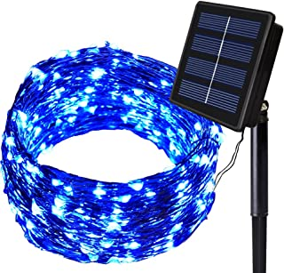 Solarmks Solar Lights - Outdoor Solar Christmas Lights 200 LED Fairy Lights Waterproof Solar String Lights Outdoor Lightin...