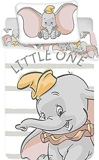 Juego de ropa de cama para bebés Dumbo, 2 piezas 100% algod