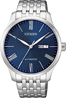 Citizen NH8350-59L Automatic Mens Watch Stainless Steel Blue Dial