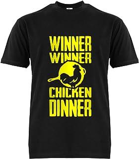 FMstyles PUBG Winner Winner Chicken Dinner white Unisex Tshirt FMS397