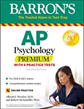 Download Book AP Psychology Premium: With 6 Practice Tests (Barron's Test Prep) PDF