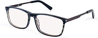 PROSPEK - Premium Computer Glasses - Professional - Blue Light and Glare Blocking (+0.00 (No Magnification)   Regular Siz...