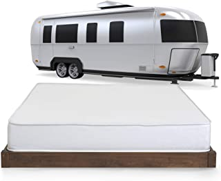 Serenia Sleep 8 inch RV Memory Foam Mattress, Short Queen, Made in The USA, CertiPur